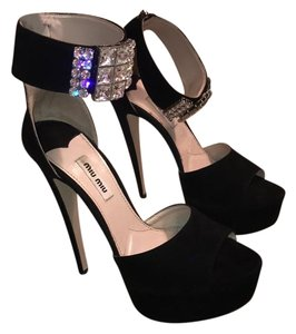 Miu Miu Rare Jewel Platforms
