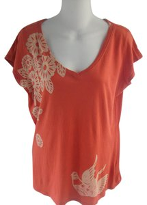 Lucky Brand T Shirt Orange