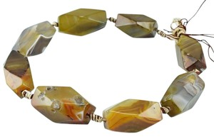 Other Mystic Tri-Color Olive Druzy Choker Necklace