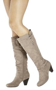 Faustina Taupe Boots
