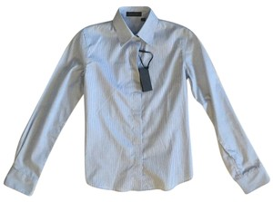 Calvin Klein Collection Button Down Shirt Sky Blue