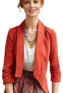 Anthropologie Burnt Orange Blazer