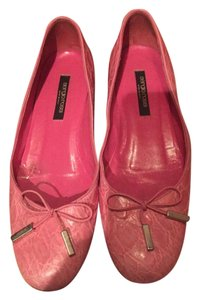 Sergio Rossi pink Flats