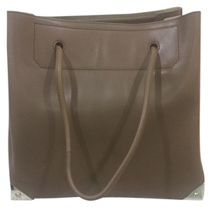 Alexander Wang Leather Tote in Beige