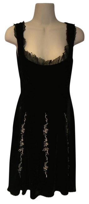 Item - Black Almost New Anthropologie Mid-length Night Out Dress Size 4 (S)
