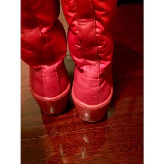 Tory Burch Red Boots Image 2