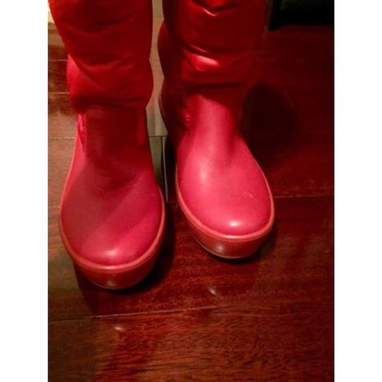 Tory Burch Red Boots Image 3