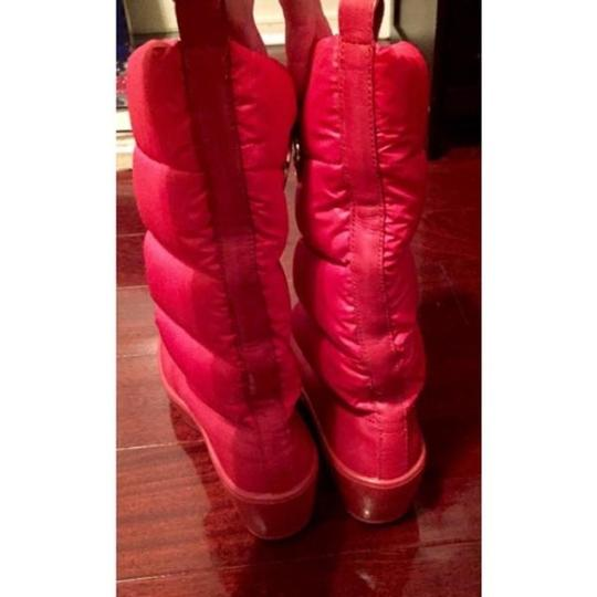 Tory Burch Red Boots Image 4