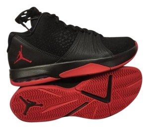 Jordan Fashions Black and Red Athletic