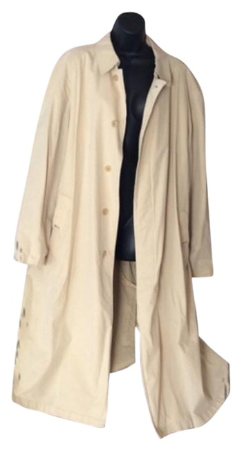 Item - Beige and Brown Coat Size 14 (L)