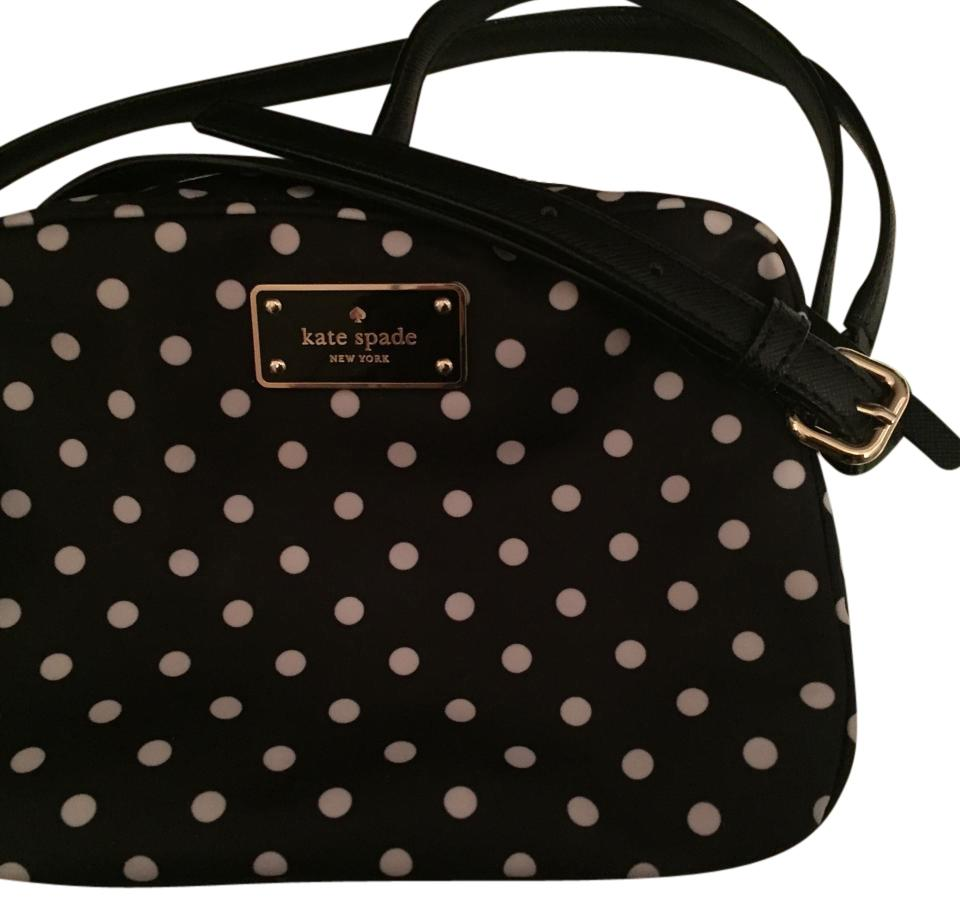 Kate spade blackwhite polka dot cross body bag tradesy kate spade cross body bag 123 junglespirit