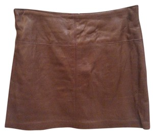 bebe Mini Skirt Brown