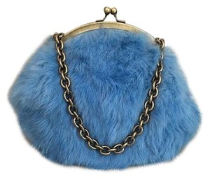 Cynthia Rowley Blue Clutch