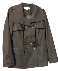 Hydraulic Grey Pea Winter Pea Coat