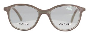 Chanel Nude Round Optical Glasses
