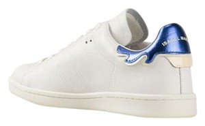 Isabel Marant Etoile Blue Sneakers Bart White Athletic