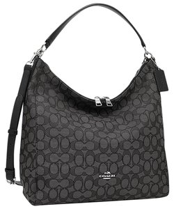 Coach Shoulder Strap Slouchy Hobo Bag