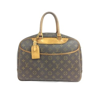 Louis Vuitton Lv Monogram Deauville Canvas Tote