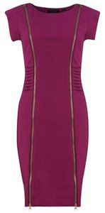 Ted Baker Party Magenta Zippers Dress