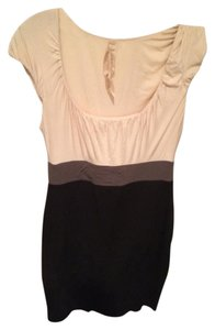 Bailey 44 short dress Black/Cream on Tradesy