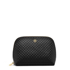 Tory Burch Robinson Embosed Cosmetic Case