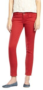 Lucky Brand Capris Red