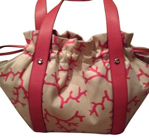 Kate Spade Tote in Cream And Pink