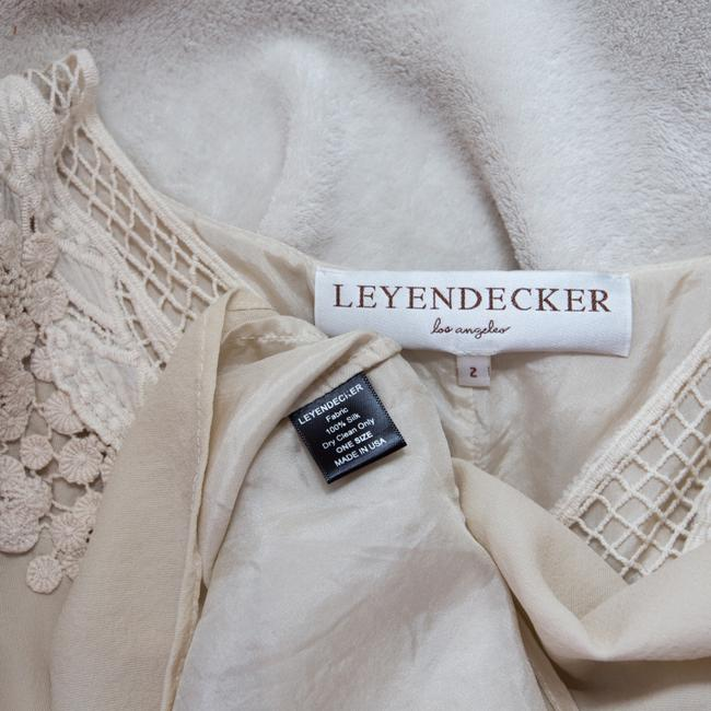 Leyendecker Lace Applique Lined Top Ivory Image 5