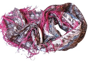 Urban Outfitters Fringe Large Square Scarf 42