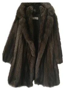 Fabulous Natural Canadian Fisher Fur Stroller Fur Coat
