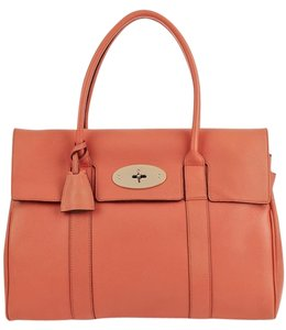 Mulberry Satchel in Coral