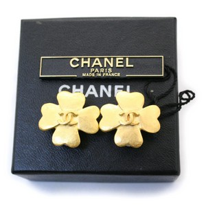 Chanel Chanel Vintage Clover Earrings
