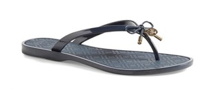 Tory Burch New In Box Navy Sandals