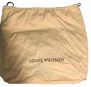 Louis Vuitton large dust cover (drawstring) Tote in Tan
