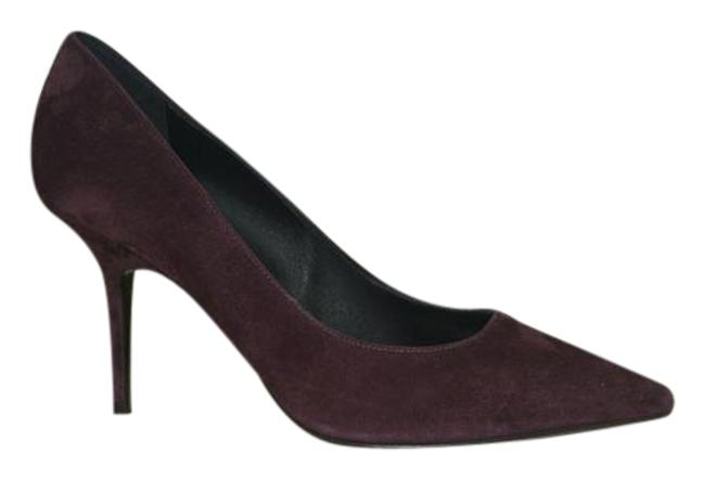 Item - Purple Suede Leather Eu 38 Made In Italy Pumps Size US 8 Regular (M, B)