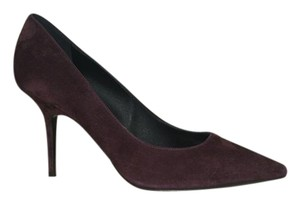 Burberry Suede Purple Pumps
