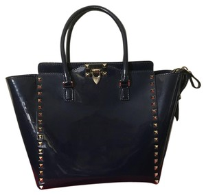 Valentino Tote in Dark Blue