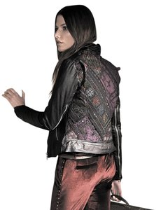 Muubaa Leather Motorcycle Jacket