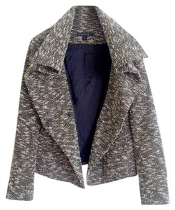 Lafayette 148 New York Tweed Black and White Jacket
