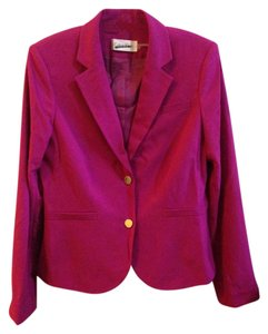 Calvin Klein 2PC Calvin Klein Skirt Suit Jacket Magenta Pink Size 8 Medium M