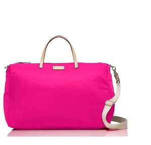 Kate Spade Kennedy Park Nylon Sweetheart Pink Travel Bag