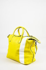 Reed Krakoff White Satchel in Yellow