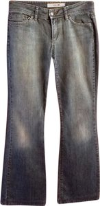 JOE'S Jeans Distressed Flare Leg Jeans-Medium Wash