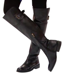 Vince Camuto Leather Boot Black Boots