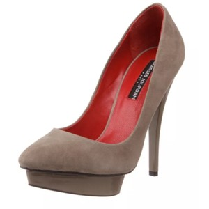 Charles Jourdan Taupe Platforms