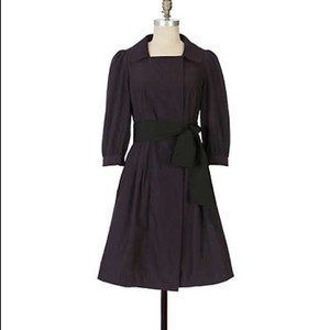 Anthropologie Trench Floreat Sash Trench Coat