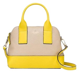 Kate Spade Satchel in Lemon Sand