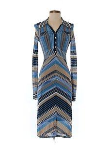 Karen Millen Striped Button-front Dress