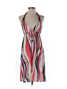 Ella Moss short dress Striped Print Halter on Tradesy
