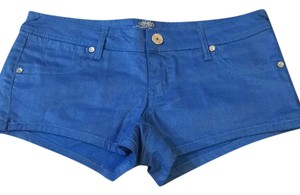 Almost Famous Clothing Mini/Short Shorts Blue